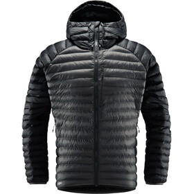 Haglöfs Essens Mimic Hooded Jacket Herre True Black/Magnetite